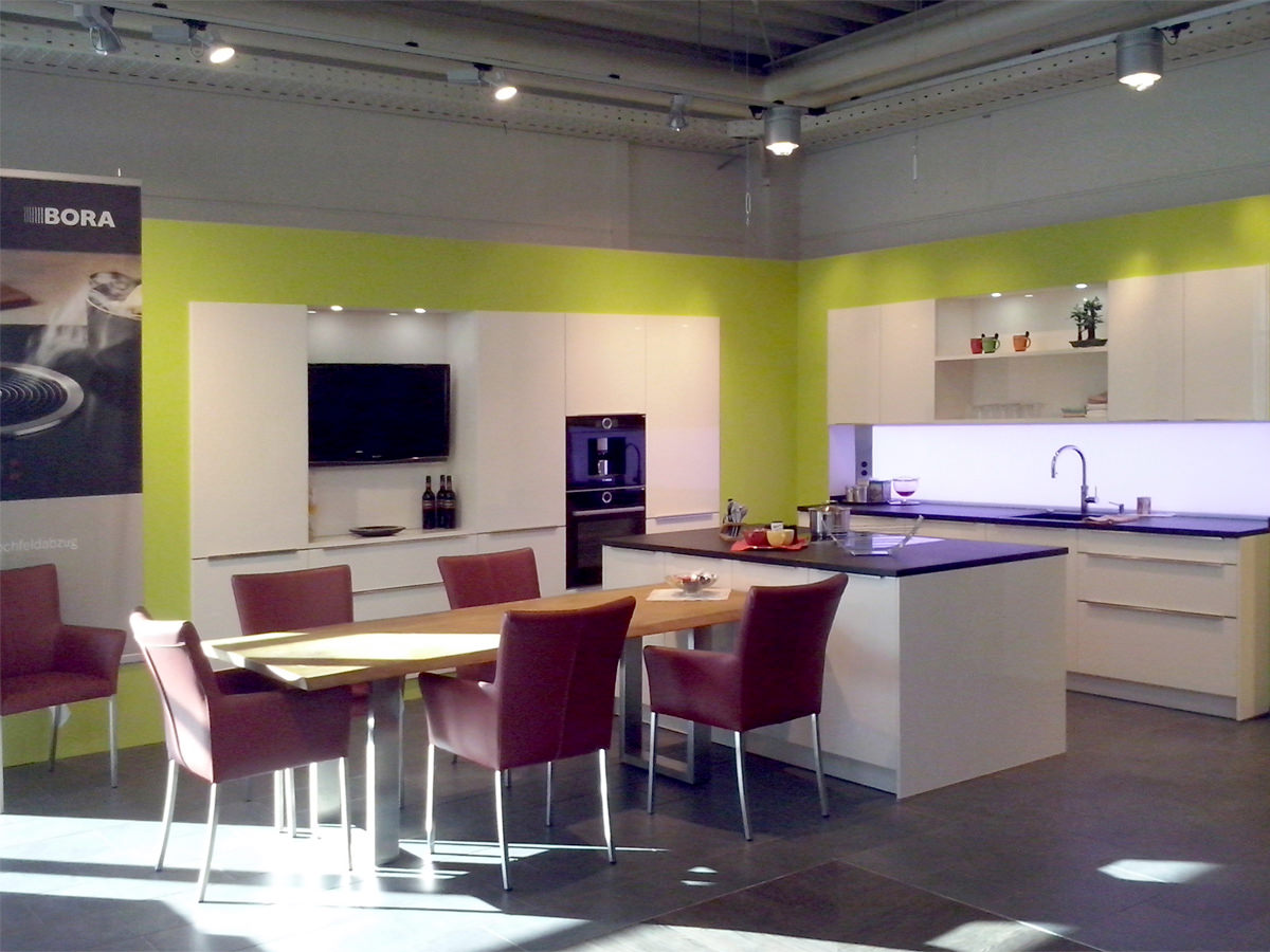 Küchenausstellung von K&W Küchenspezialisten